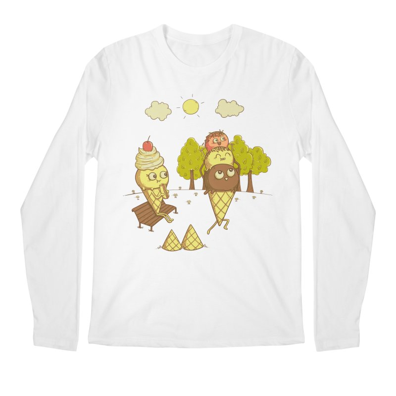 Yummyback Ride Men's Regular Longsleeve T-Shirt by Made With Awesome