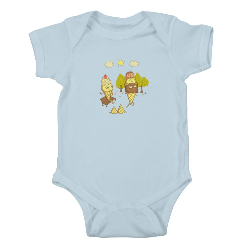 Yummyback Ride Kids Baby Bodysuit by Made With Awesome