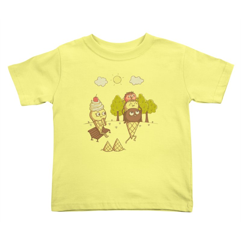 Yummyback Ride Kids Toddler T-Shirt by Made With Awesome