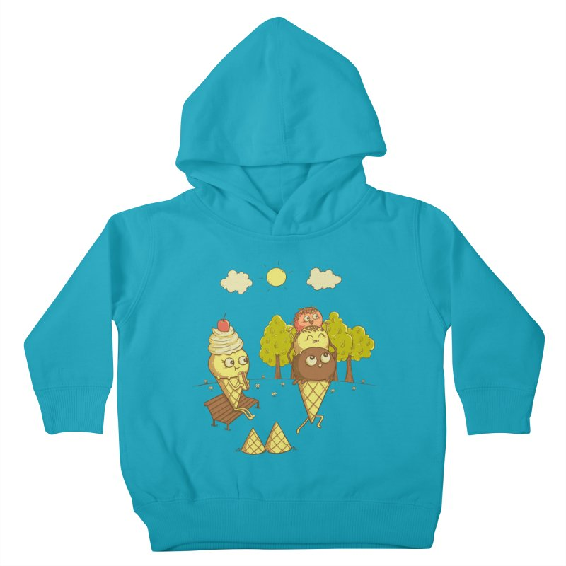Yummyback Ride Kids Toddler Pullover Hoody by Made With Awesome