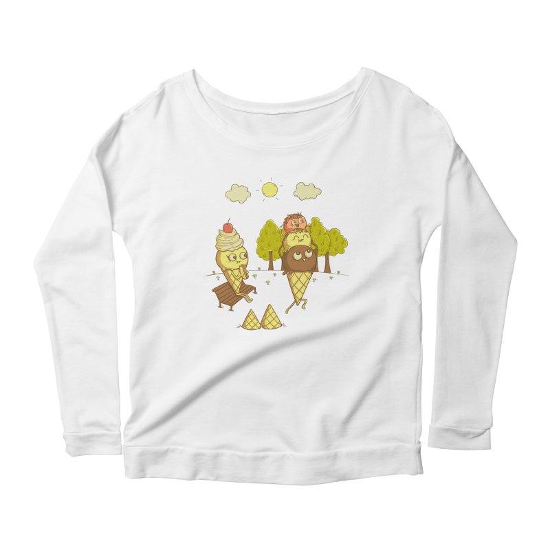 Yummyback Ride Women's Scoop Neck Longsleeve T-Shirt by Made With Awesome
