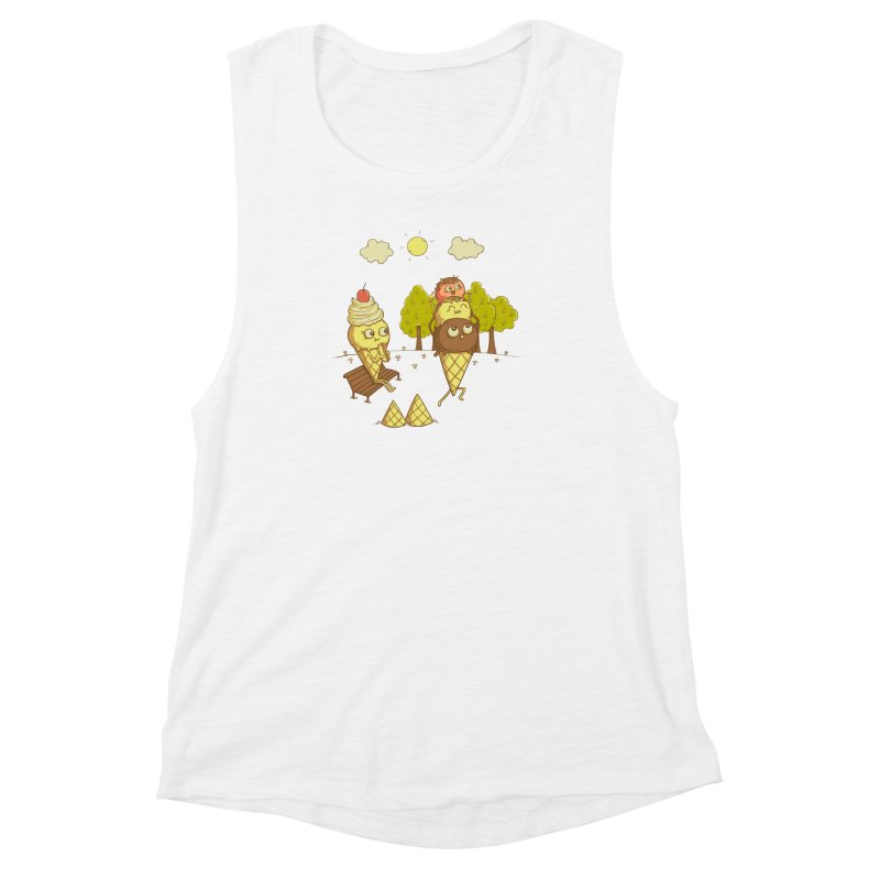 Yummyback Ride Women's Muscle Tank by Made With Awesome