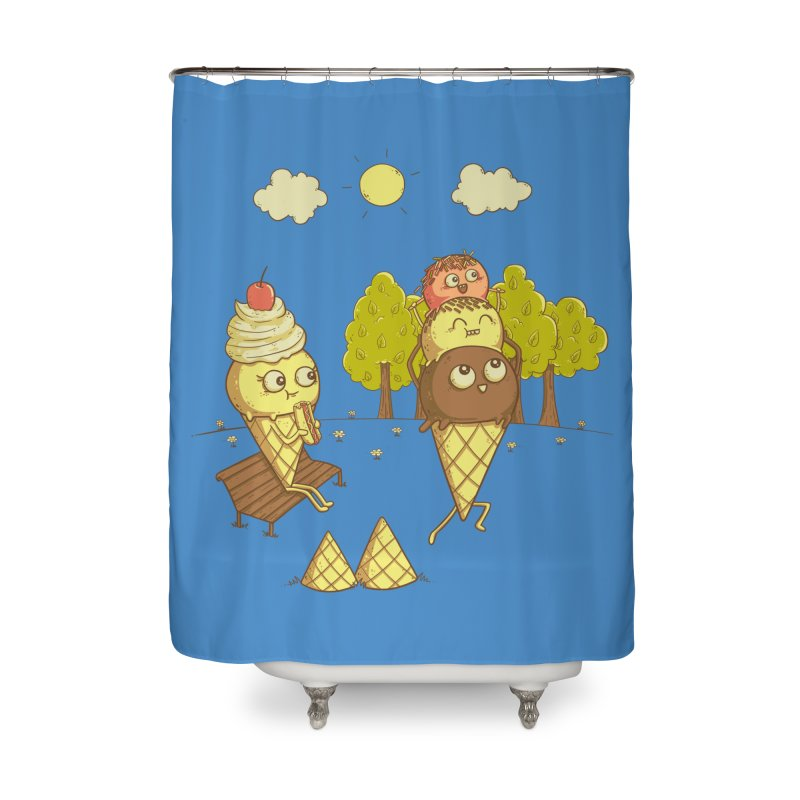 Yummyback Ride Home Shower Curtain by Made With Awesome