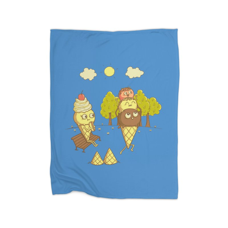 Yummyback Ride Home Fleece Blanket Blanket by Made With Awesome