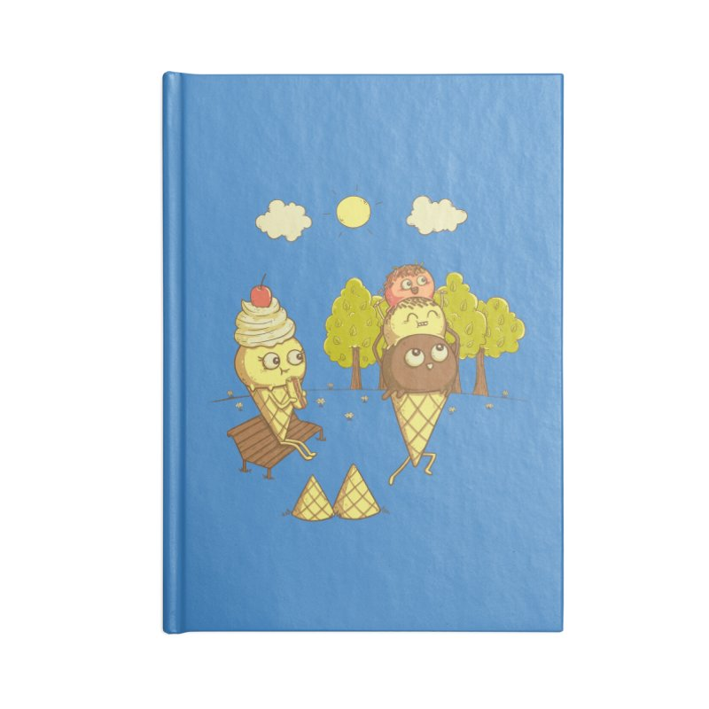Yummyback Ride Accessories Blank Journal Notebook by Made With Awesome
