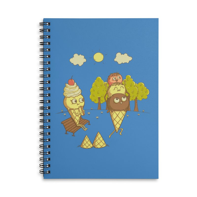 Yummyback Ride Accessories Lined Spiral Notebook by Made With Awesome