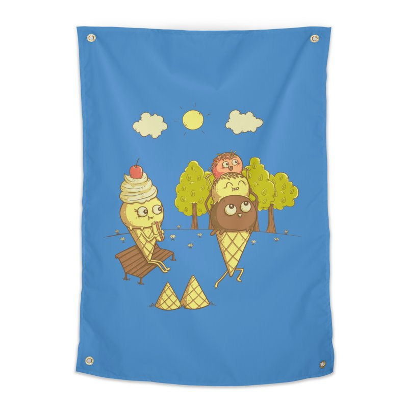 Yummyback Ride Home Tapestry by Made With Awesome