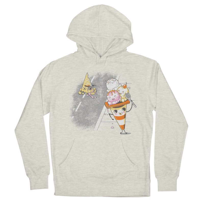 Traffic Cone's Sweet Revenge Women's French Terry Pullover Hoody by Made With Awesome