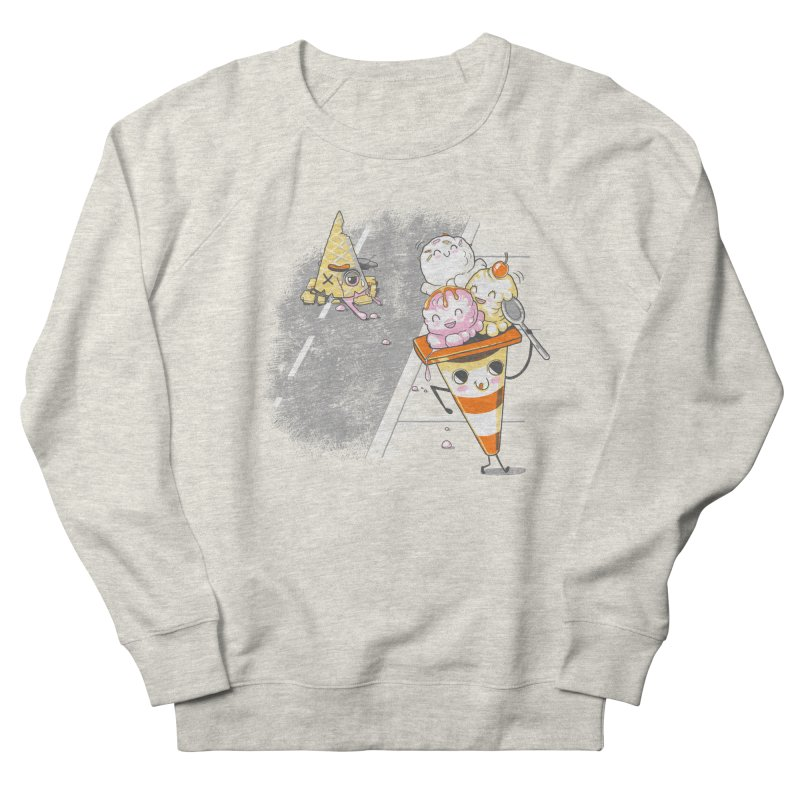 Traffic Cone's Sweet Revenge Women's French Terry Sweatshirt by Made With Awesome