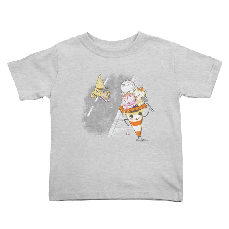 Traffic Cone's Sweet Revenge Kids Toddler T-Shirt by Made With Awesome