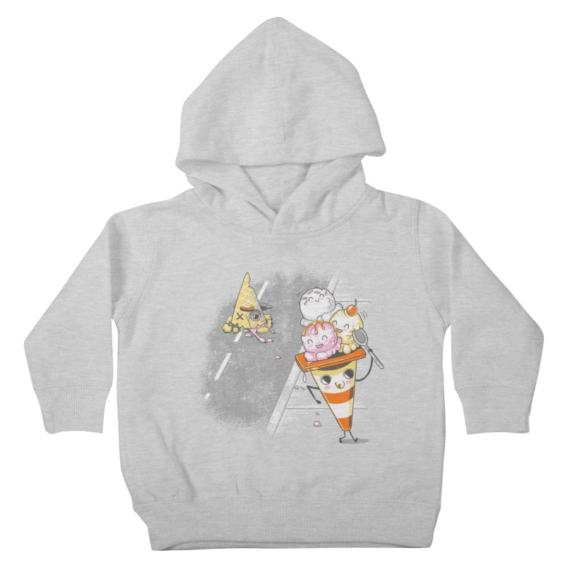 Traffic Cone's Sweet Revenge Kids Toddler Pullover Hoody by Made With Awesome