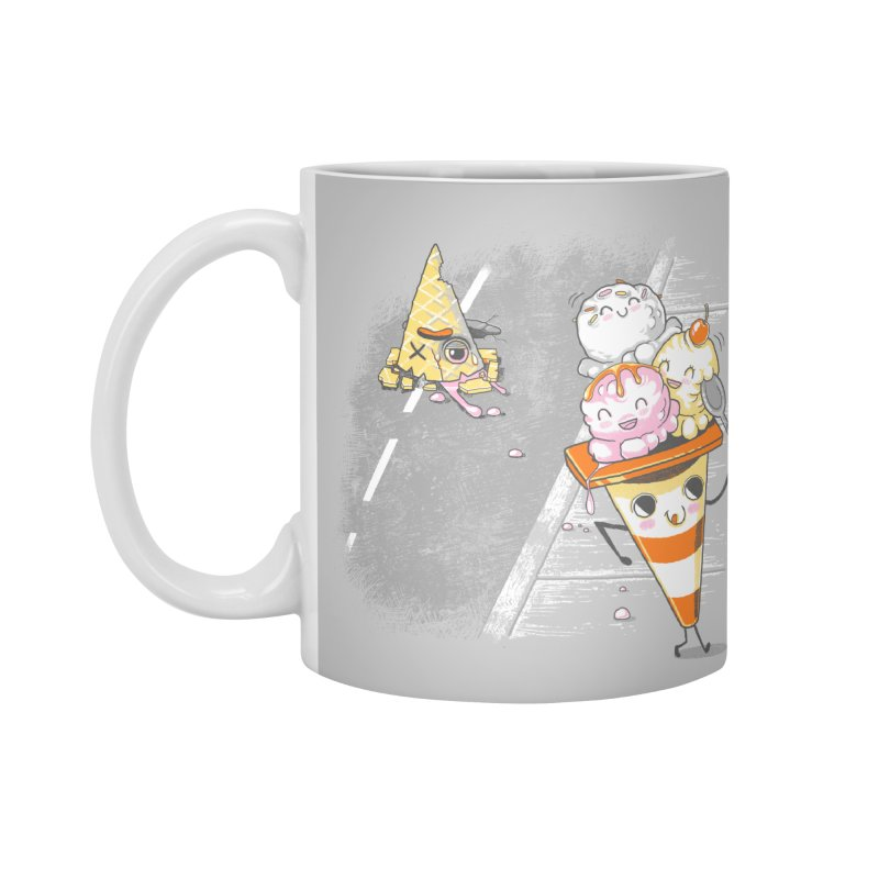 Traffic Cone's Sweet Revenge Accessories Standard Mug by Made With Awesome