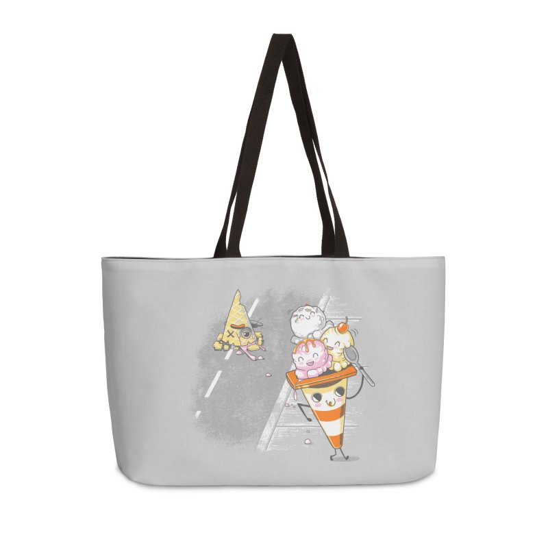 Traffic Cone's Sweet Revenge Accessories Weekender Bag Bag by Made With Awesome