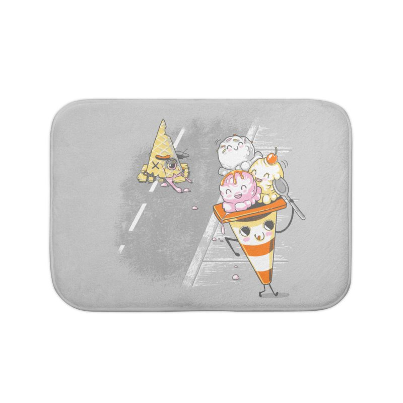 Traffic Cone's Sweet Revenge Home Bath Mat by Made With Awesome