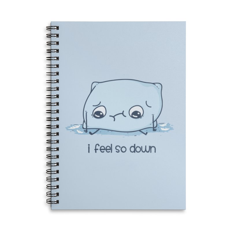 Pillow Talk Accessories Lined Spiral Notebook by Made With Awesome