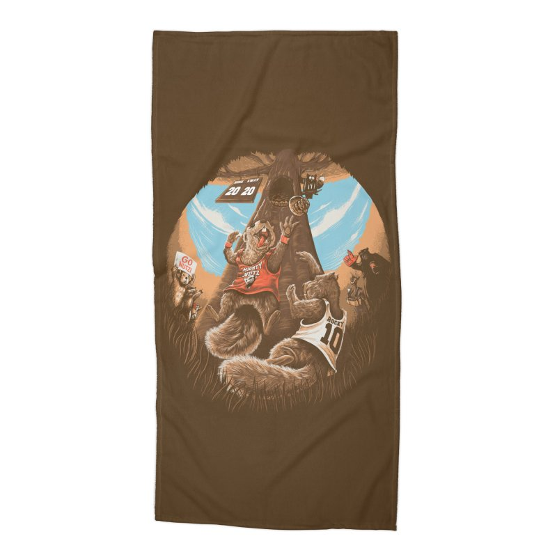 He Shoots He Stores Accessories Beach Towel by Made With Awesome