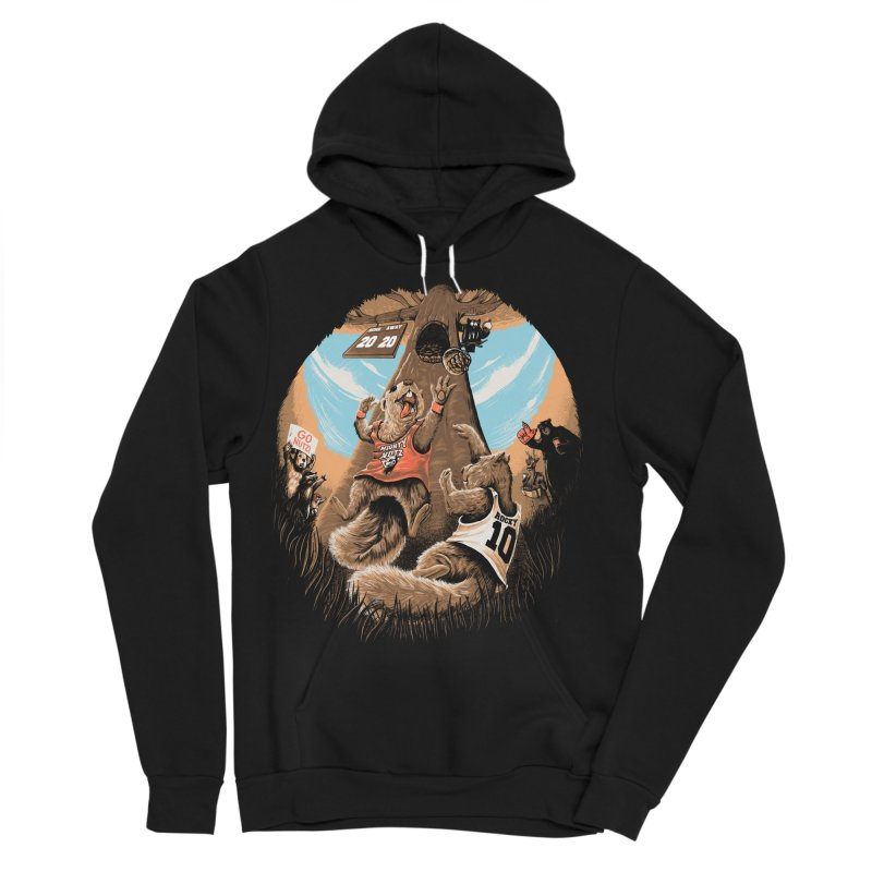 He Shoots He Stores Men's Sponge Fleece Pullover Hoody by Made With Awesome
