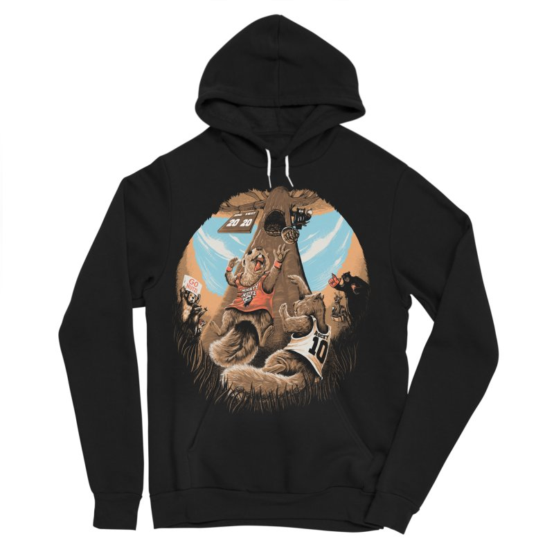 He Shoots He Stores Women's Sponge Fleece Pullover Hoody by Made With Awesome