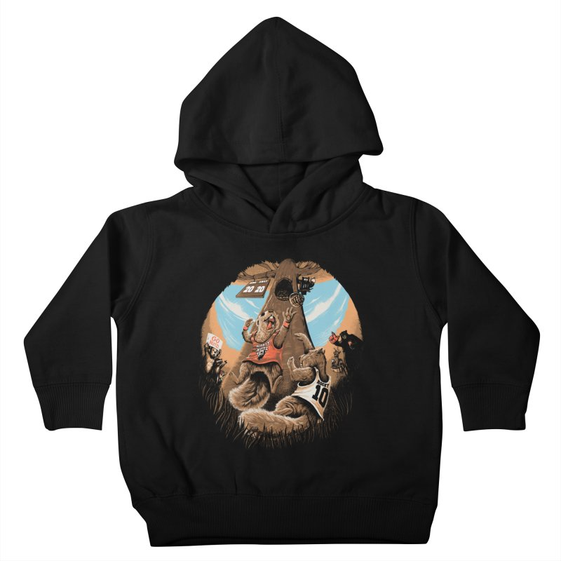 He Shoots He Stores Kids Toddler Pullover Hoody by Made With Awesome