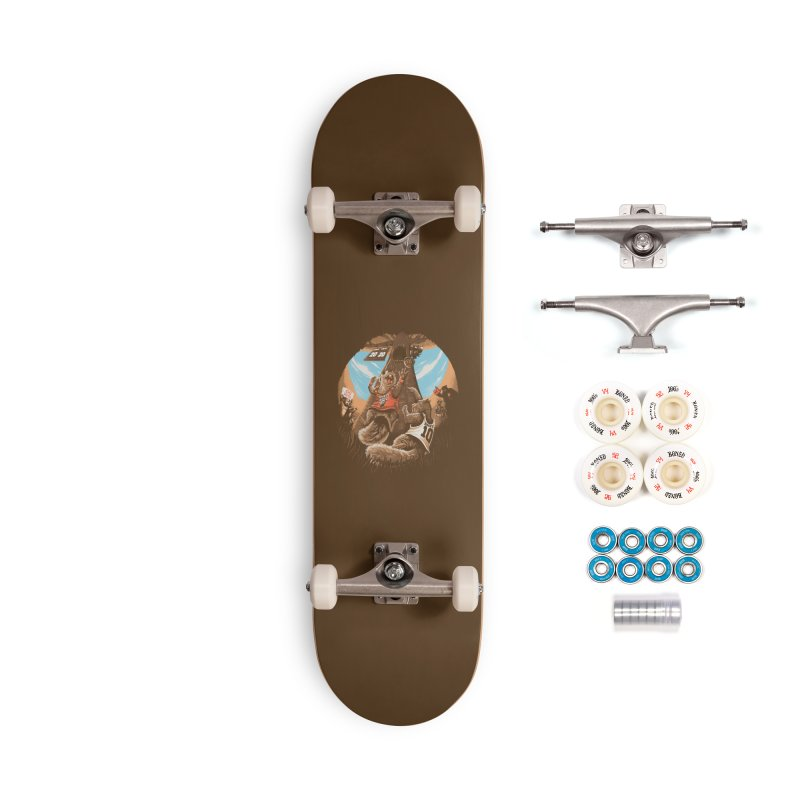 He Shoots He Stores Accessories Complete - Premium Skateboard by Made With Awesome