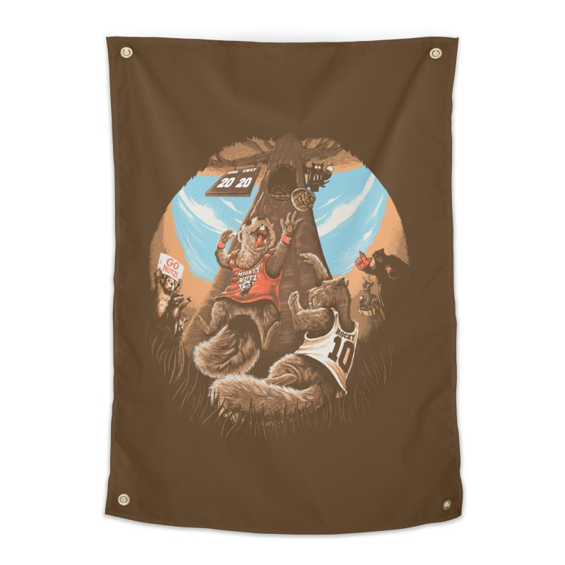 He Shoots He Stores Home Tapestry by Made With Awesome