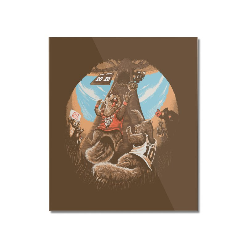 He Shoots He Stores Home Mounted Acrylic Print by Made With Awesome