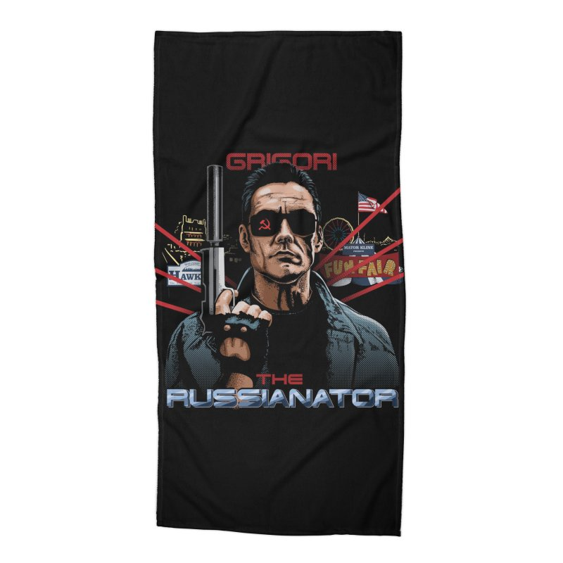 THE RUSSIANATOR Accessories Beach Towel by Made With Awesome