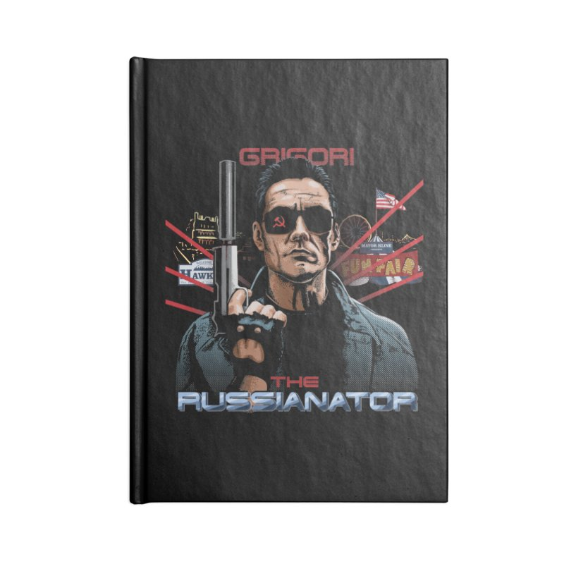THE RUSSIANATOR Accessories Blank Journal Notebook by Made With Awesome