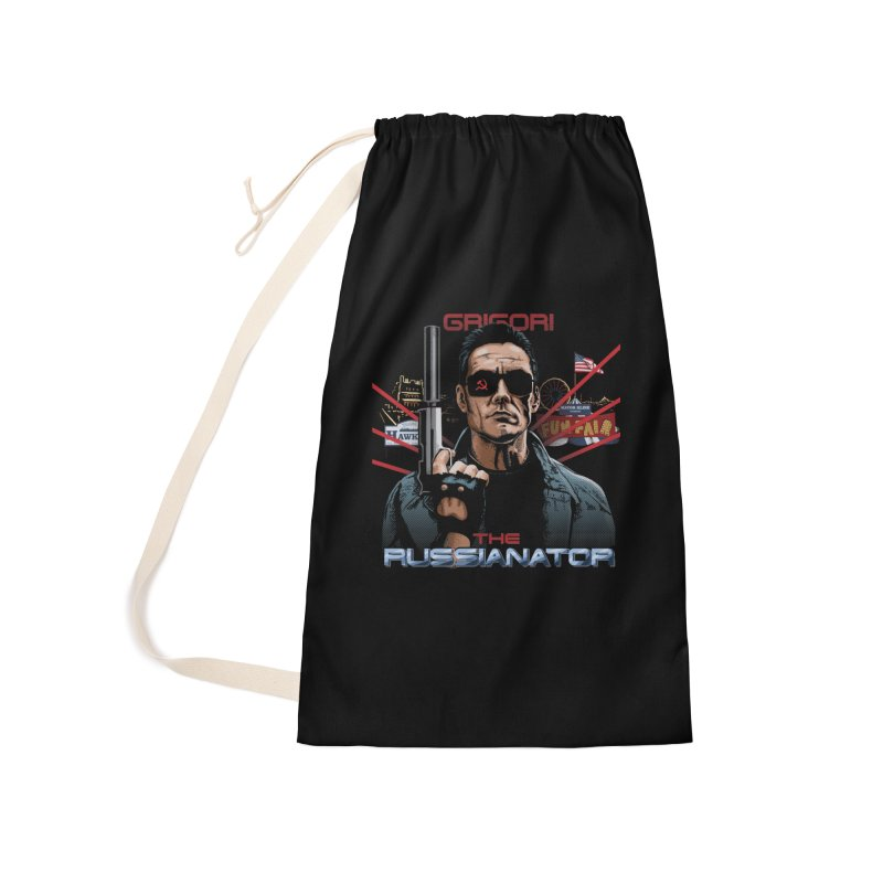THE RUSSIANATOR Accessories Laundry Bag Bag by Made With Awesome