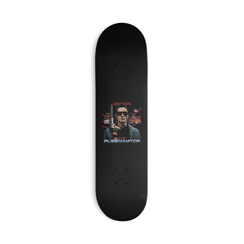 THE RUSSIANATOR Accessories Deck Only Skateboard by Made With Awesome