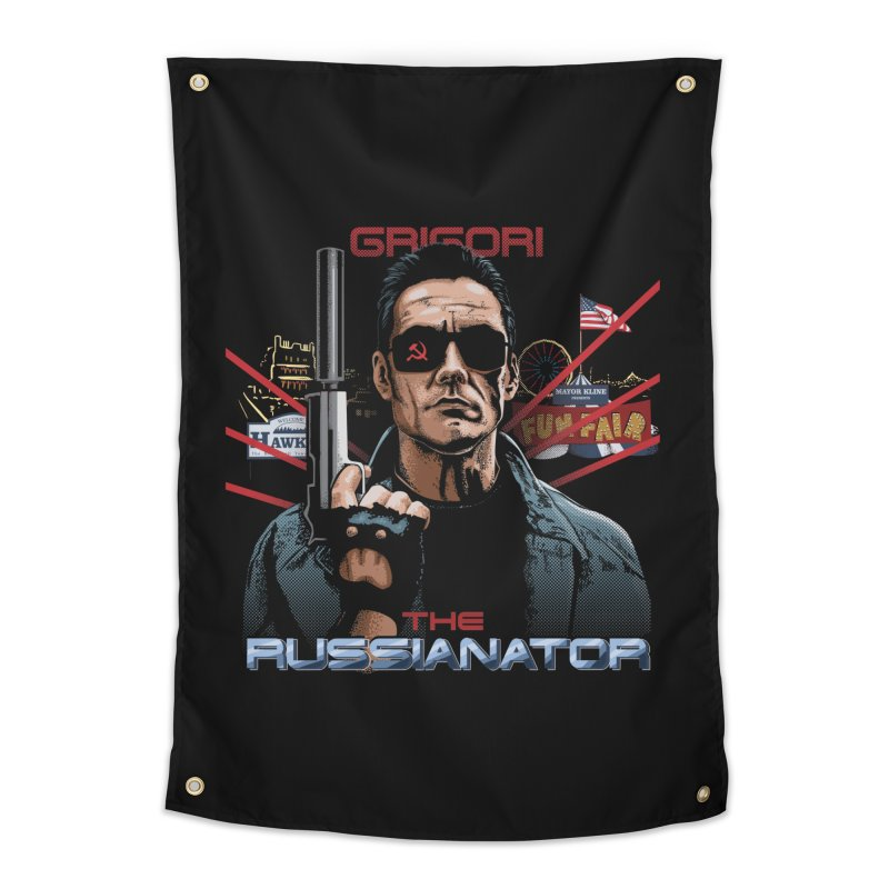 THE RUSSIANATOR Home Tapestry by Made With Awesome