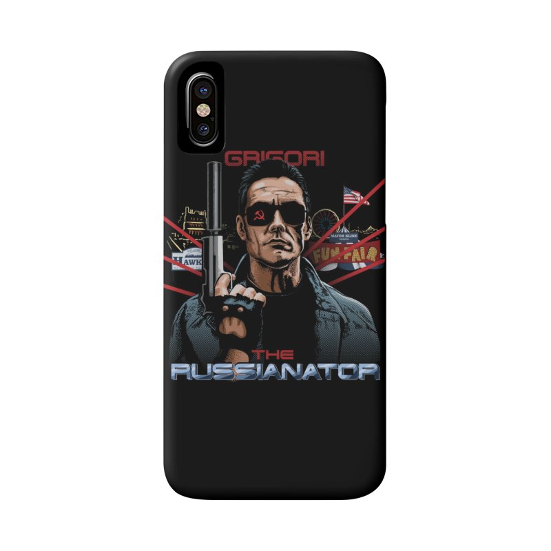THE RUSSIANATOR Accessories Phone Case by Made With Awesome