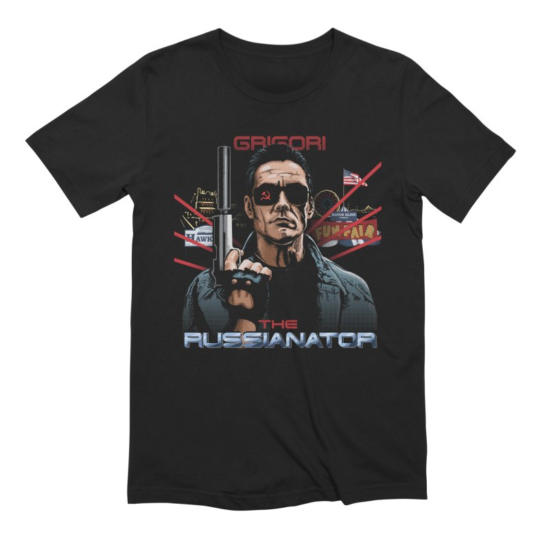 THE RUSSIANATOR Men's Extra Soft T-Shirt by Made With Awesome