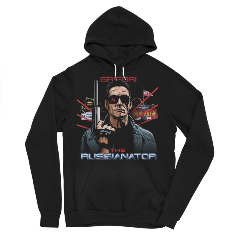 THE RUSSIANATOR Men's Sponge Fleece Pullover Hoody by Made With Awesome