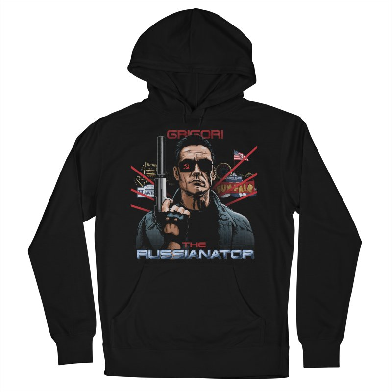 THE RUSSIANATOR Men's French Terry Pullover Hoody by Made With Awesome