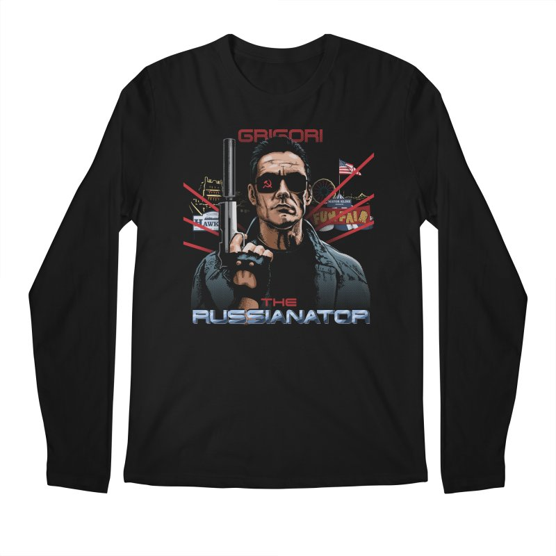 THE RUSSIANATOR Men's Regular Longsleeve T-Shirt by Made With Awesome