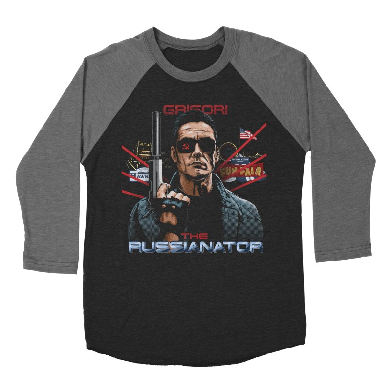 THE RUSSIANATOR Men's Baseball Triblend Longsleeve T-Shirt by Made With Awesome