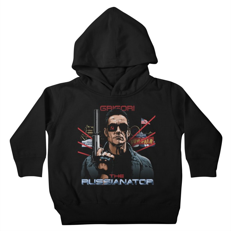 THE RUSSIANATOR Kids Toddler Pullover Hoody by Made With Awesome