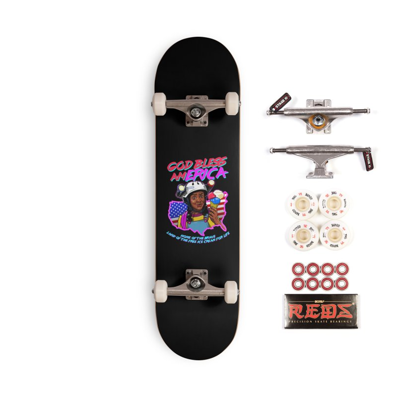God Bless amERICA! Accessories Complete - Pro Skateboard by Made With Awesome