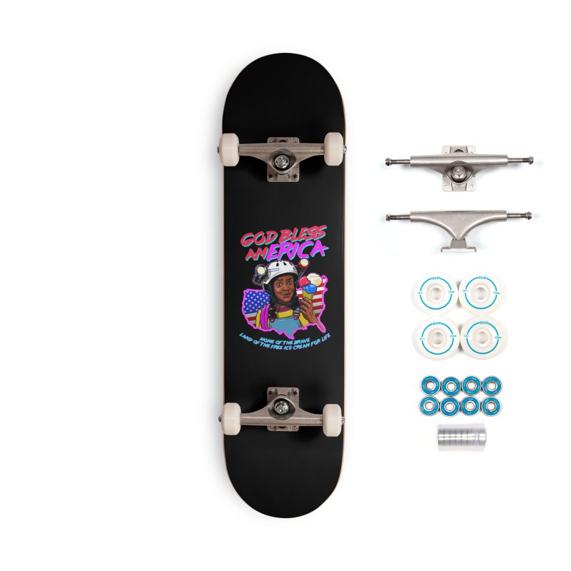 God Bless amERICA! Accessories Complete - Basic Skateboard by Made With Awesome