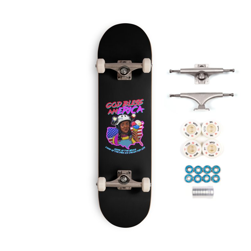 God Bless amERICA! Accessories Complete - Premium Skateboard by Made With Awesome