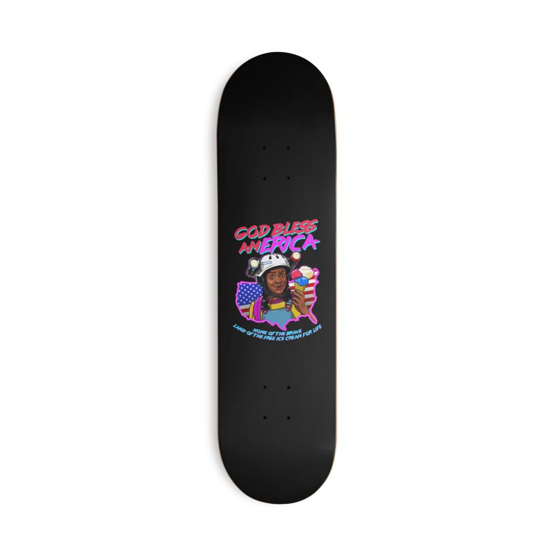 God Bless amERICA! Accessories Deck Only Skateboard by Made With Awesome