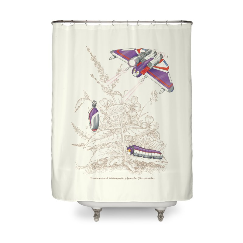 Natural Transformation Home Shower Curtain by Made With Awesome