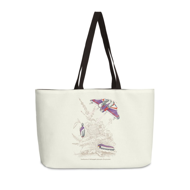 Natural Transformation Accessories Weekender Bag Bag by Made With Awesome