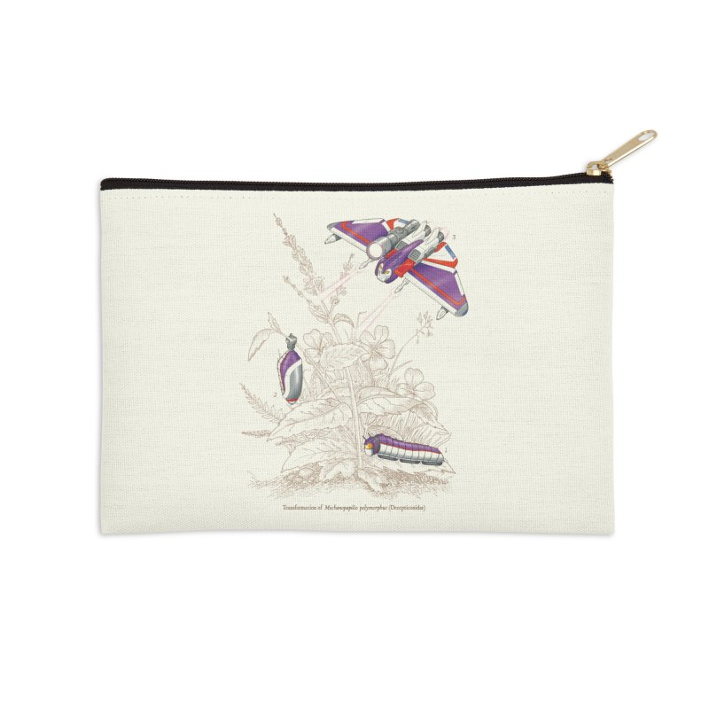 Natural Transformation Accessories Zip Pouch by Made With Awesome