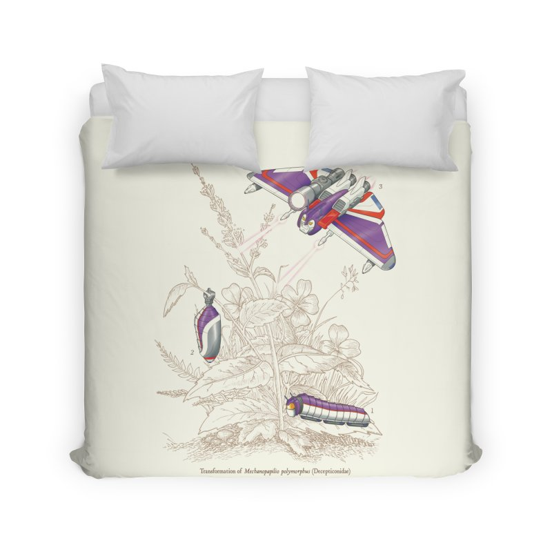 Natural Transformation Home Duvet by Made With Awesome
