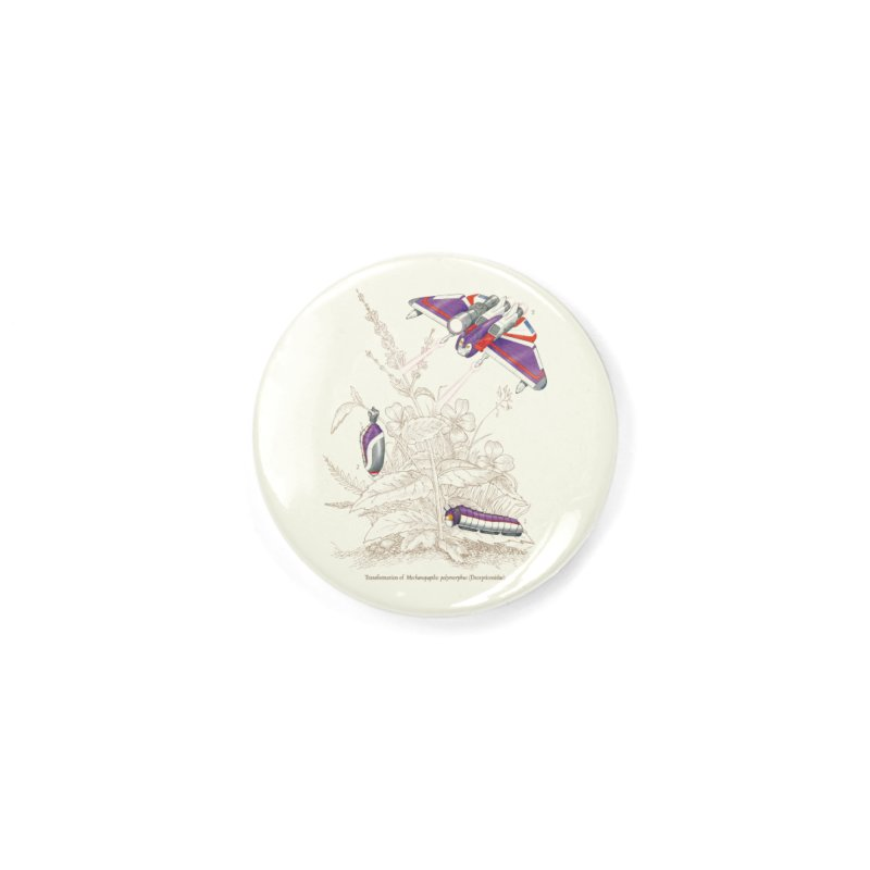 Natural Transformation Accessories Button by Made With Awesome