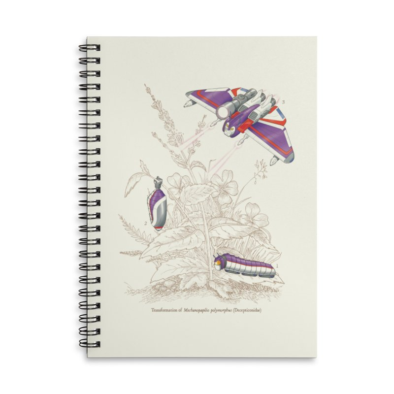 Natural Transformation Accessories Lined Spiral Notebook by Made With Awesome