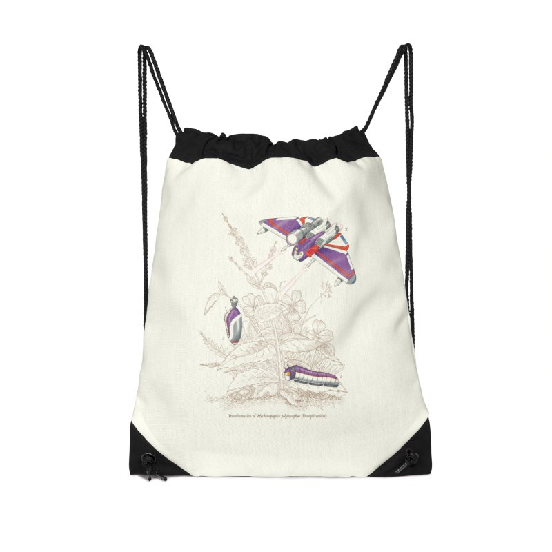 Natural Transformation Accessories Drawstring Bag Bag by Made With Awesome