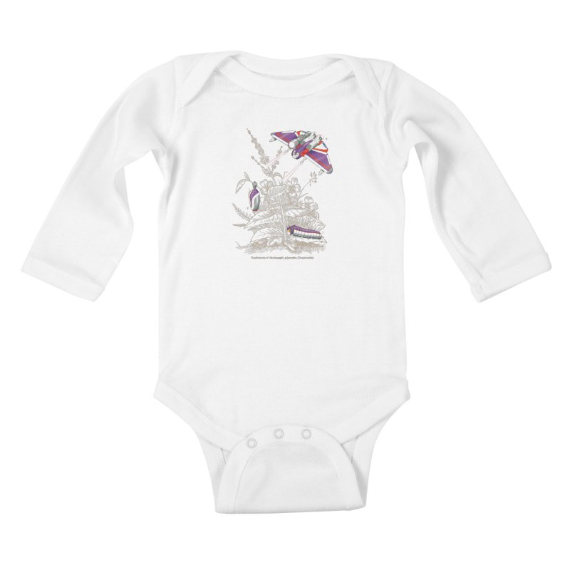 Natural Transformation Kids Baby Longsleeve Bodysuit by Made With Awesome